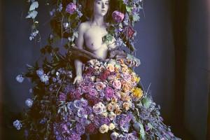 Flower Dress by Kristen Hatgi-Sink