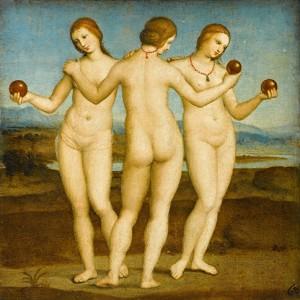 Tres Gracias Painting